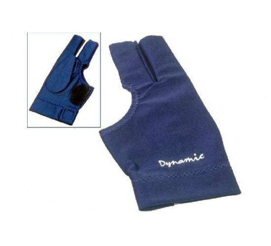Gant Deluxe doigts coupés bleu