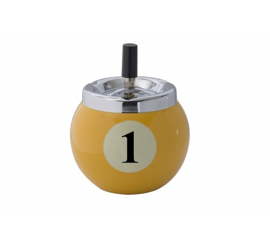 Cendrier boule de billard n° 1