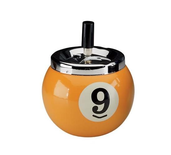 Cendrier boule de billard n° 9