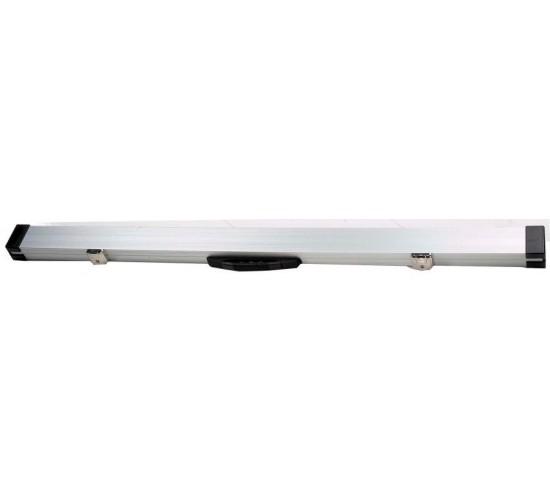 Mallette rigide aluminium pour 2 queues monoblocs