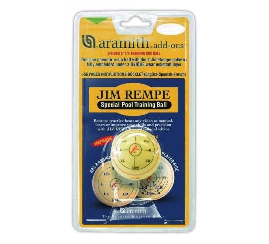 Billes  de billard américain d'entraînement ARAMITH Jim Rempe - 57.2 mm