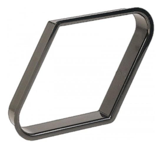 LOSANGE plastique noir pour billes 57.2 mm