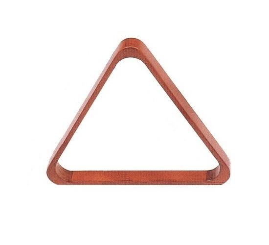 Triangle bois pour billes 50.8 mm