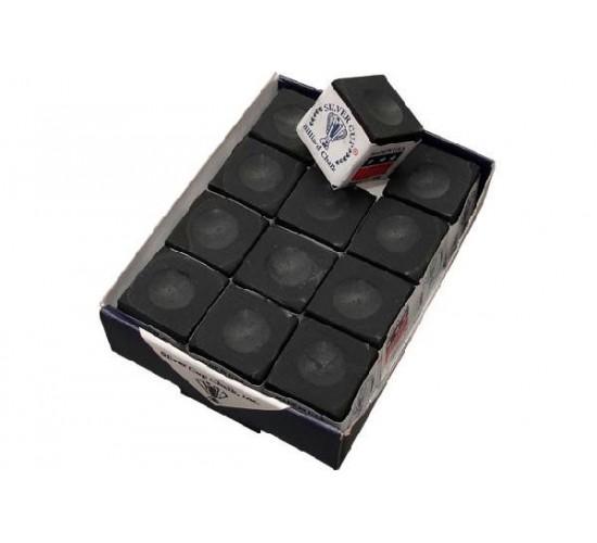 Boite de 12 craies SILVER CUP - noir