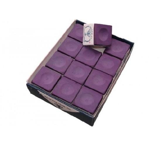 Boite de 12 craies SILVER CUP - violet