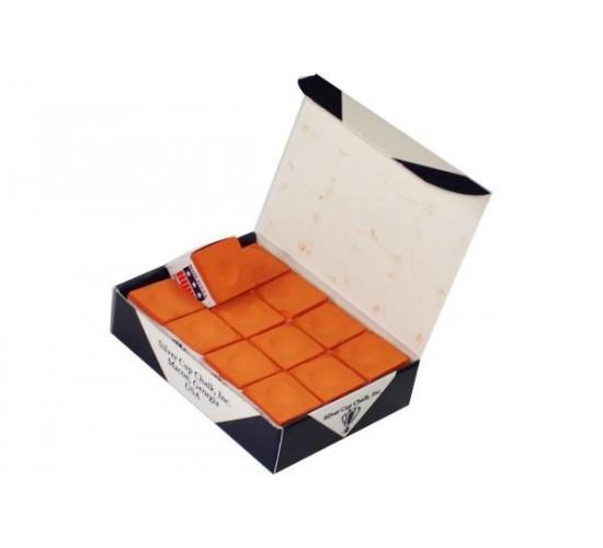 Boite de 12 craies SILVER CUP - orange