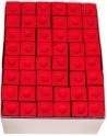 Boite de 144 craies MASTER - rouge