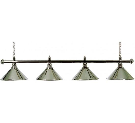luminaire elegance chrom 4 globes eurobillards. Black Bedroom Furniture Sets. Home Design Ideas