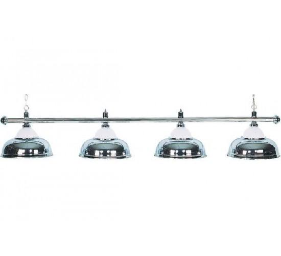 Luminaire crown 4 globes eurobillards for Globe luminaire interieur