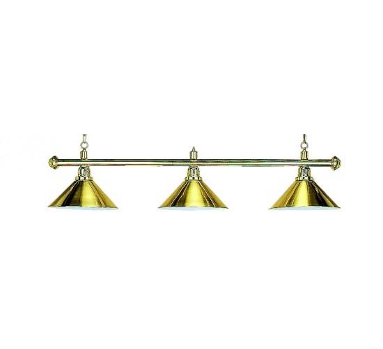 Luminaire ELEGANCE Brass - 3 globes