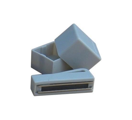 Porte-craie magnétique standard - gris