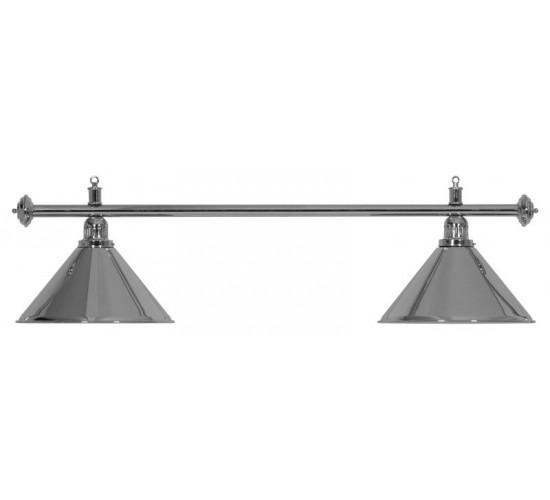 Luminaire ELEGANCE Chromé - 2 globes