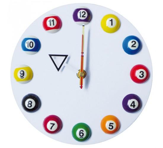 Horloge murale blanche 20cm