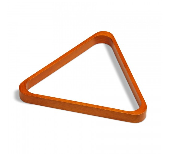 Triangle bois 57.2 mm, finition merisier