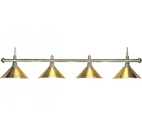 Luminaire ELEGANCE Brass - 4 globes