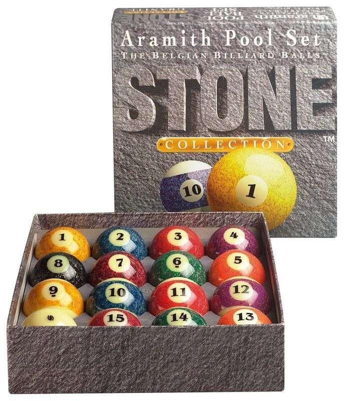 Billes de billard am ricain aramith stone 57 2 mm - Fabricant billard americain ...