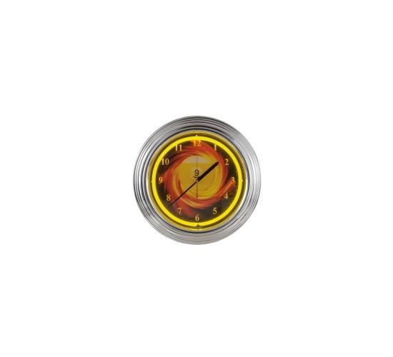 Horloge murale à néon NBU-3  - jaune