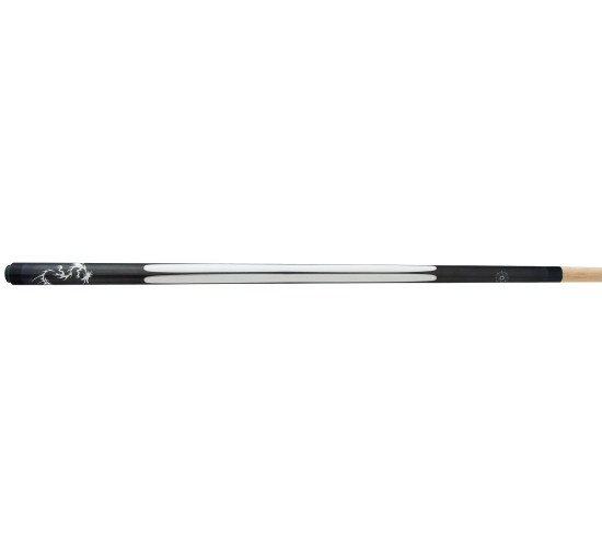 Queue de billard américain TATTOO CLD-1 graphite-blanc