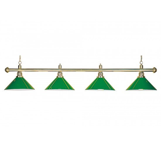 Luminaire EVERGREEN 3 globes verts