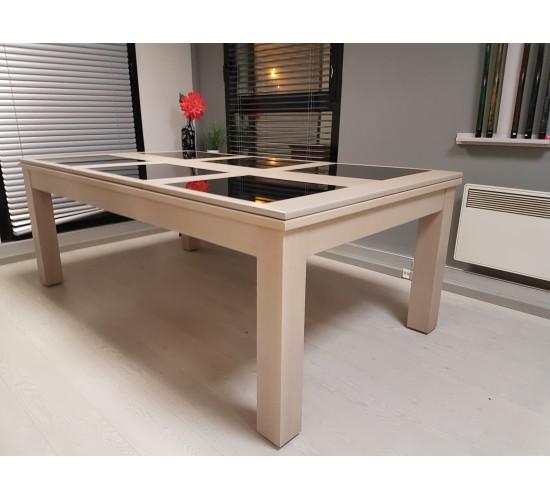 Billard table TENDANCE 2.10 m en chêne, plateau SV