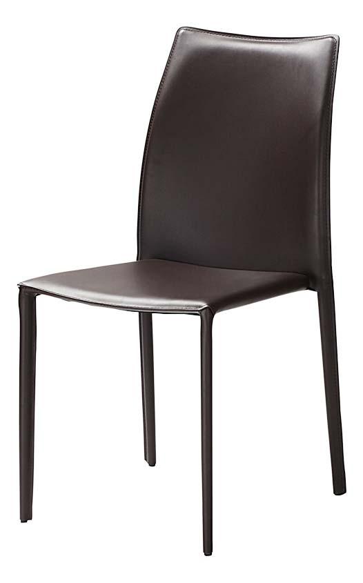 Chaise Solène brun
