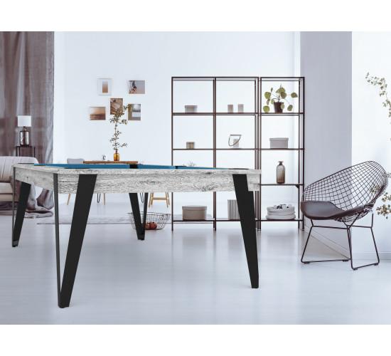 Table billard style industriel - Table convertible - Eurobillards ...