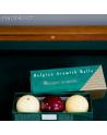 Boîte de billes de billard français en résine phénolique Super Aramith Traditional