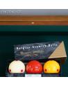 Boîte de 3 billes de billard français Super Aramith Pro-Cup en résine phénolique de qualité compétition