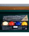 boîte de quatre billes de billard français à 4 billes Super Aramith Pro-Cup en résine phénolique jouées en compétition