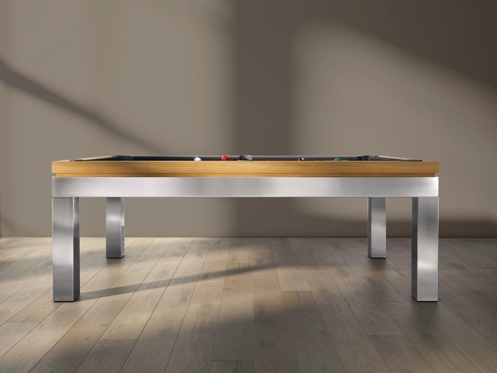 billard new tendance inox design contemporain eurobillards. Black Bedroom Furniture Sets. Home Design Ideas