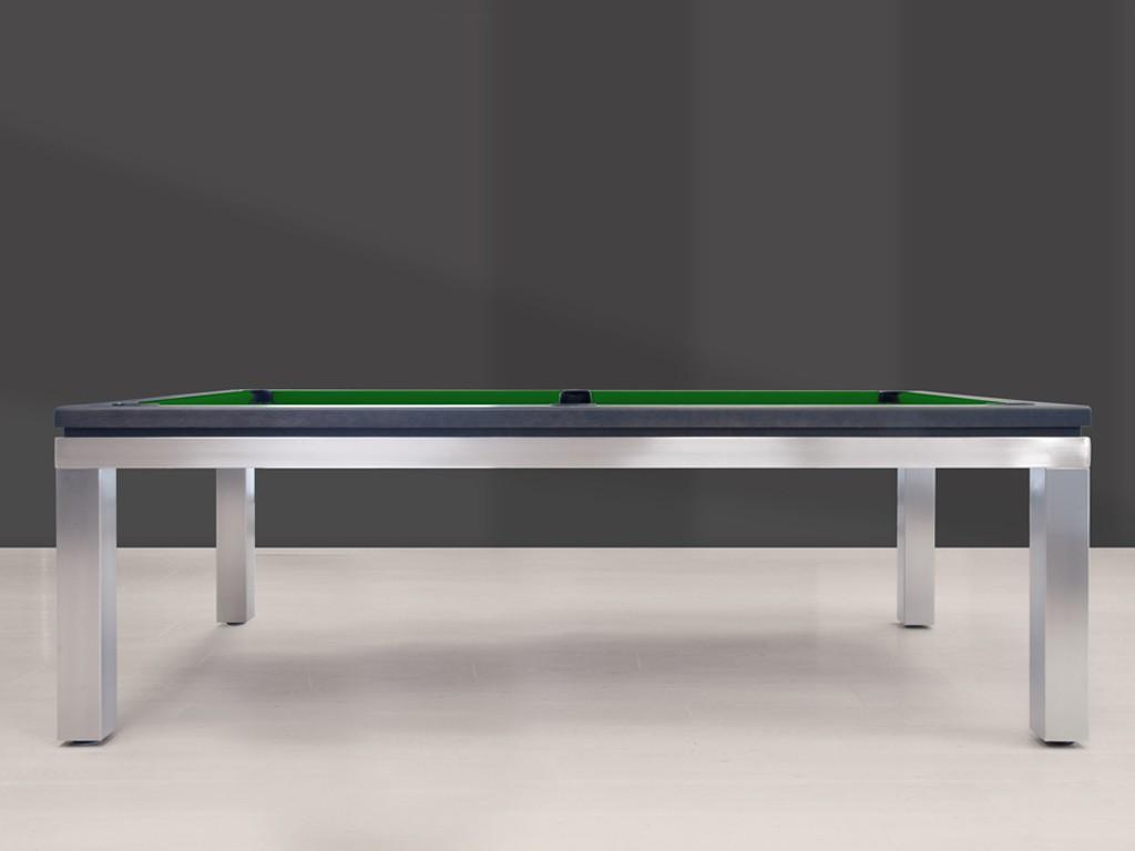 billard new tendance table inox eurobillards. Black Bedroom Furniture Sets. Home Design Ideas