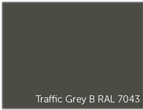 Laque grise industrielle pour billard table Traffic Grey B RAL 7043