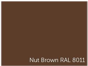 Billard qui est une table de salle ‡ manger laquÈe couleur noisette. Nut Brown RAL 8011