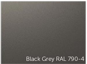 Table moderne avec jeu de billard sous le plateau laquÈ gris sombre. Black Grey RAL 790-4