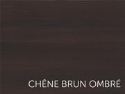 chêne brun ombré