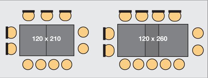 rallonge pour table de 11 à 13 personnes