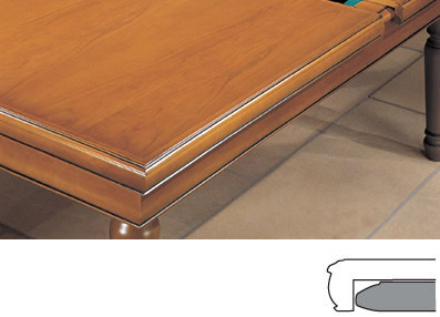 plateau de table pour billard style Louis Philippe