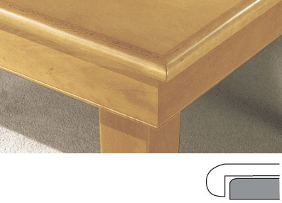 plateau de table a rebord arrondi