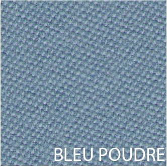 Tissu de billard teinte bleu poudre