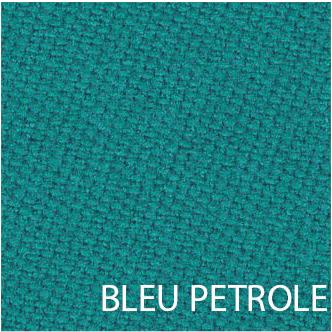 Tissu de billard bleu petrole
