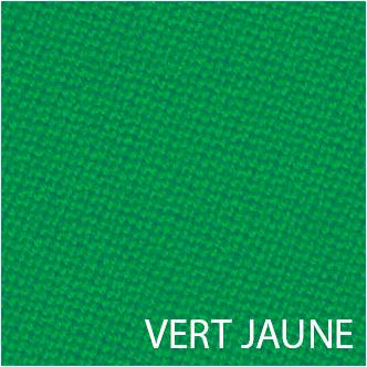 Tissu de billard vert-jaune