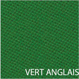 Tissu de billard vert anglais