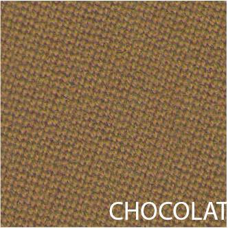 Tissu de billard couleur chocolat
