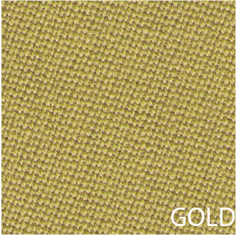 Tapis de billard couleur gold
