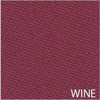 Tissu de billard couleur wine