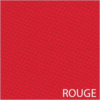 Tissu de billard rouge