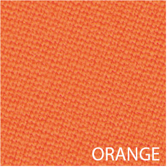 tapis de billard orange