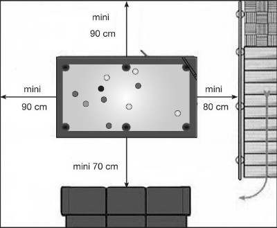 billard contemporain new tendance table bois eurobillards. Black Bedroom Furniture Sets. Home Design Ideas