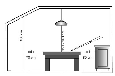 Table Billard Factory Pieds Acier Style Industriel Eurobillards