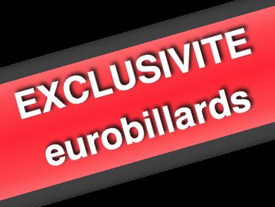 Exclusivite eurobillards